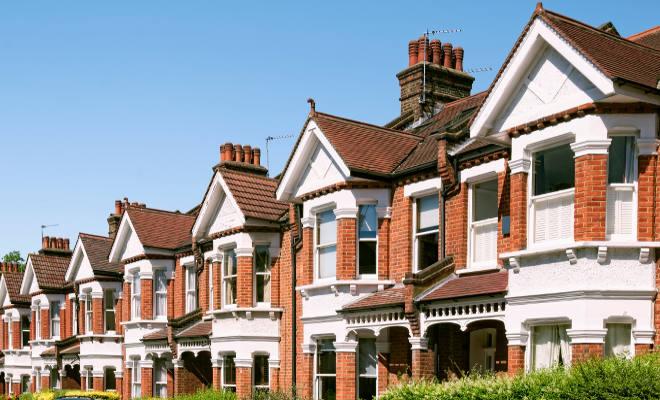 Row of properties